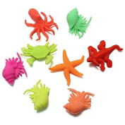 Mixed Marine Life Water Swell Growing Toy Sea Animal Expansion Toys