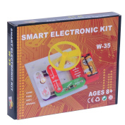Mtele W-35 Snap to Build Circuits Electronic Block Educational Toy Set