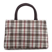 ZXKE Retro Grids Women Handbags Portable Picnic Bags Lunch Bag Tote
