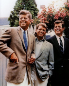 The Kennedy Brothers 1960 Photo Art JFK RFK Edward Photos Artwork 8x10