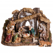 Joseph Studio 10 Piece Coloured Christmas Nativity