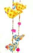 Mango Gifts 10-Bird Bell Tota Traditional Indian Hanging Decoration By Mango Gifts India