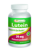 Best Naturals Lutein, 20mg, 120 Softgels