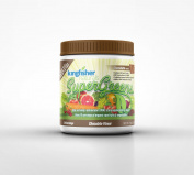 KingFisher Naturals Chocolate-Flavoured SuperGreens - Contains 50 Super Foods, Certified Vegan, 225g Powder, 30 Day Supply