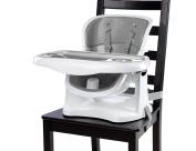 Ingenuity SmartClean ChairMate Chair Top High Chair, Slate/Grey