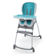Ingenuity SmartClean Trio 3-in-1 High Chair, Aqua