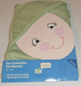 i play Hooded Breatheasy Sun Protection Hat Blanket Sage Green