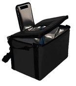 TCB Insulated Bags HWK-1D-Black Food and Beverage Carriers