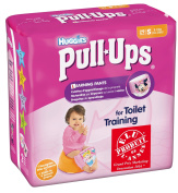 Huggies Pull-Ups Training Pants Girls Size 4 Nappies 29/S