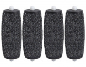 4 x Compatible Scholl Velvet Smooth Express Diamond Pedi Replacement Roller ...
