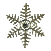 Giant Snowflake Brooch (Silver)