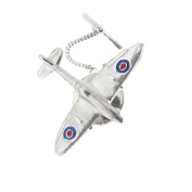925 Sterling Silver Gentlemen's Spitfire Tie Pin - An Exclusive Gift for your Man