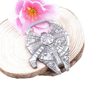 Funnytoday Novelty Star Wars Millennium Falcon Metal Alloy Opener Bottles