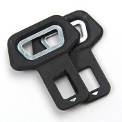 Funnytoday U rsal Vehicle Mounted Bottle Opener Seat Belt Socket Buckle Clasp Insert Car Safety Belt Clip