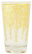 6GL0974 Clayre & Eef - Drinking glass ca. 4.1cm x 8.9cm