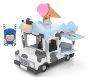 Oddbods AV4501P Pogo Ice Cream Van Action Vehicle Toy