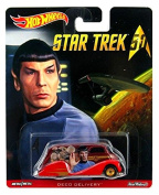 Hot Wheels - Real Riders Series - Star Trek 50th Anniversary - Spock - Deco Delivery