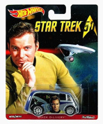 Hot Wheels - Real Riders Series - Star Trek 50th Anniversary - James T Kirk - Quick D-Livery