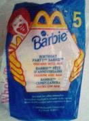 Birthday Party Barbie #5 - 1999 McDonalds Toy