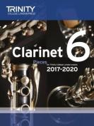 Clarinet Exam Pieces Grade 6 2017 2020