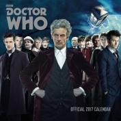 Doctor Who Official 2017 Square Calendar