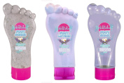 Foot Feet Pedicure Set Soak Scrub Lotion Lavender Chamomile 3 Pack