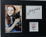 LIMITED EDITION JUDY GARLAND SIGNED DISPLAY PRINTED AUTOGRAPH AUTOGRAPH AUTOGRAF AUTOGRAM SIGNIERT SIGNATURE MOUNT FRAME