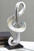 Skulptur Notenschlüssel Musik Tanz Note