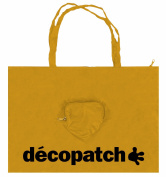 Decopatch 49 x 49 cm Nylon Bag, Gold