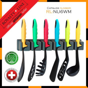 Royalty Line RL-NU6WM 6pcs Utensil Set with Wall Mount