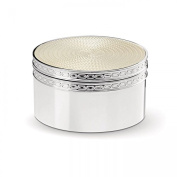 Vera Wang by Wedgwood - Silver Plated With Love Nouveau Pearl Treasure Box
