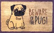 Beware of the Pug doormat