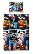 "Character World Single ""Batman V Superman Clash"" Duvet Set"