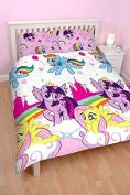 My Little Pony Double Duvet and Pillowcase Set Equestria Design