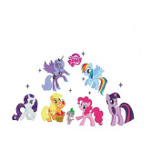 Wallpaper My Little Pony Kid's Bedroom Wall Sticker Art Decal Removable Mural DIY Decor