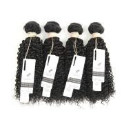 Allrun Hair 7A Unprocessed Brazilian Kinky Curly Virgin Hair 4 bundles 20cm - 80cm Available Mixed Length Brazilian Virgin Human Hair Kinky Curly Weave 18 20 22 60cm