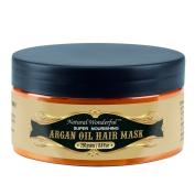Natural Wonderful Argan Oil Hair Mask Repair And Moisturise Dry, Damaged Or Colour Treated Hair, For All Hair Types 260ml