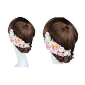 Bride Headband flower Crown Garland Halo for Wedding Festivals