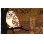 Homefires Accents Retro Owls 60cm by 90cm Indoor Rug