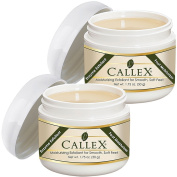 (Set/2) Callex Callus Foot & Heel Ointment - Smoothes & Softens Cracked Feet