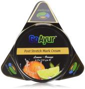 GoAyur Ayurvedic Post Stretch Marks Cream Natural Stretch Marks Removal & Herbal Body Moisturiser, Paraben Free, 100% Herbal Actives, Natural Fragrance, 180ml