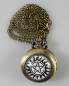 Supernatural Sam Pendant Pocket Watch ,Supernatural Sam Necklace Pocket Watch Charm, Supernatural Sam Pendant Pocket Watch Glass Tile Jewellery,glass Supernatural Watch,supernatural Photo