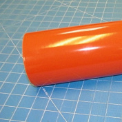 60cm x 3m Roll of Glossy Oracal 651 Orange Vinyl for Craft Cutters and Vinyl Sign Cutters