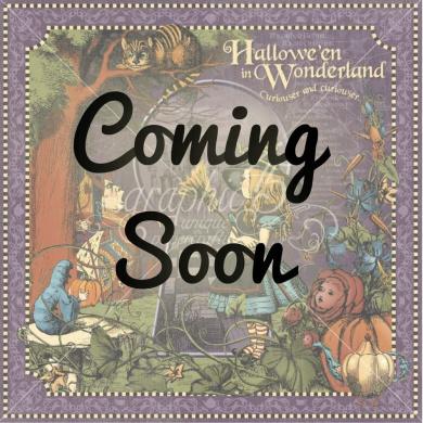 Hallowe'en in Wonderland coordinating Card Stock selected by FotoBella (12 sheets)