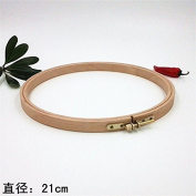 8.27 Inch Cross Stitch Wooden Embroidery Tools- 21cm