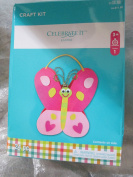 24 piece Butterfly Easter craft kit
