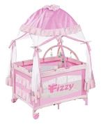 Fizzy Canopy Play Pen, Pink