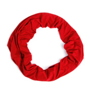 Nursing Scarf For Breastfeeding By Consider It Maid - Cotton & Polyester Blend, Soft, Lightweight & Breathable Material - Maximum Privacy - Modern, . Design - Red