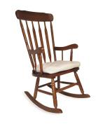 Shermag Rocker Chair Seat Cushion, Beige