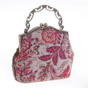 Antique Style Sequined handmade Womens Vintage Envelope Evening wedding Cocktail Party Handbag Clutch purse wallet